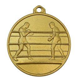 مدال آویز ورزشی طلا بوکس - UNC - محمد رضا شاه