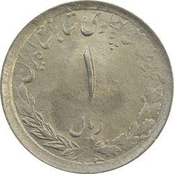 سکه 1 ریال 1332 (نوشته بزرگ) - MS62 - محمد رضا شاه