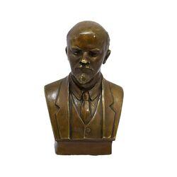 مجسمه برنز طرح ولادیمیر ایلیچ لنین آنتیک