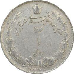 سکه 2 ریال 1322 - VF25 - محمد رضا شاه