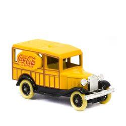 ماشین اسباب بازی آنتیک طرح coca cola