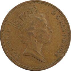 سکه 2 پنس 1985 الیزابت دوم - EF45 - انگلستان