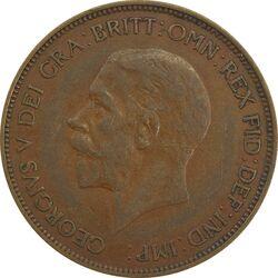 سکه 1 پنی 1936 جرج پنجم - EF45 - انگلستان