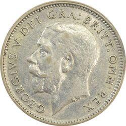 سکه 6 پنس 1926 جرج پنجم - MS62 - انگلستان