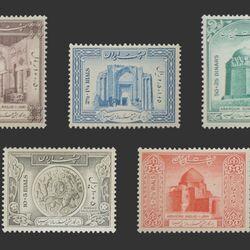 تمبر هزارمین سال تولد حکیم ابو علی سینا (سری سوم) 1328 - محمد رضا شاه