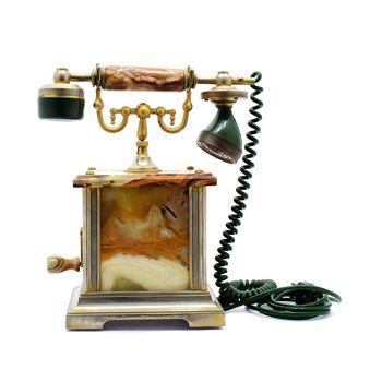 تلفن رومیزی هندلی با طرح کلاسیک