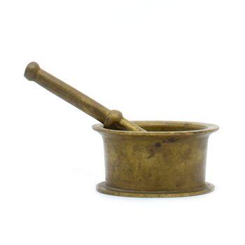 هاون برنجی 4 سانتی