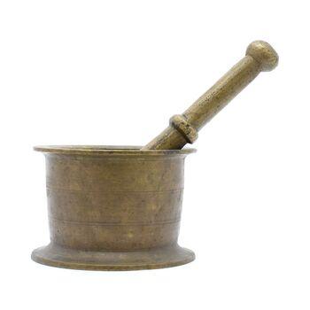 هاون برنجی 10 سانتی