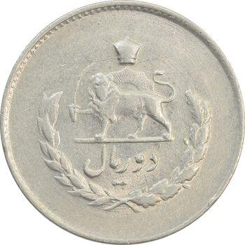 سکه 2 ریال 1335 مصدقی - MS63 - محمد رضا شاه