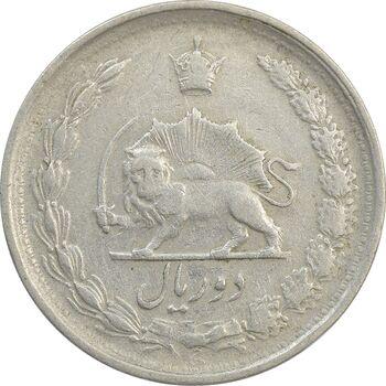 سکه 2 ریال 1340 - VF35 - محمد رضا شاه