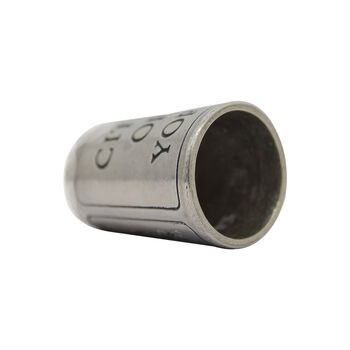 انگشتانه سربی قدیمی با طرح شهر یورک  - کد 007070