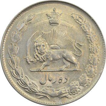 سکه 10 ریال 1340 - AU58 - محمد رضا شاه