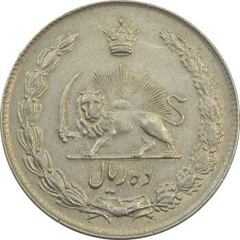 سکه 10 ریال 1342 - EF45 - محمد رضا شاه
