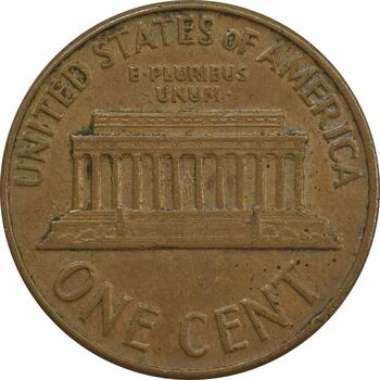 سکه 1 سنت 1961 لینکلن - EF45 - آمریکا