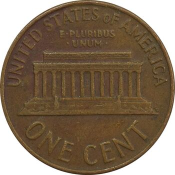 سکه 1 سنت 1964 لینکلن - EF - آمریکا