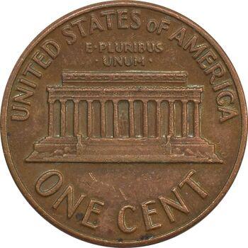 سکه 1 سنت 1971 لینکلن - EF40 - آمریکا