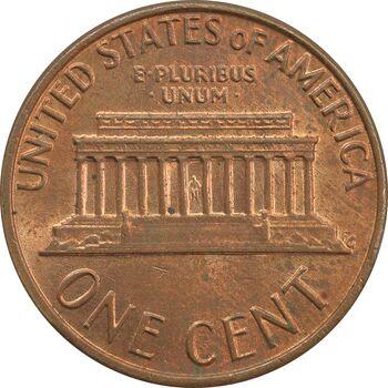 سکه 1 سنت 1976 لینکلن - MS62 - آمریکا