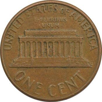 سکه 1 سنت 1976D لینکلن - EF - آمریکا