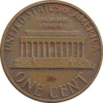 سکه 1 سنت 1981 لینکلن - EF - آمریکا