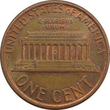سکه 1 سنت 1986D لینکلن - AU - آمریکا