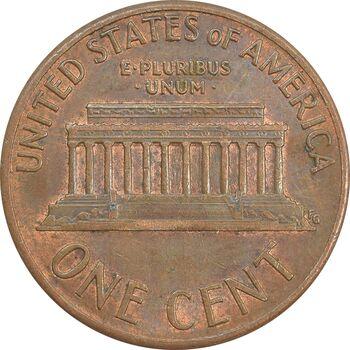 سکه 1 سنت 1989D لینکلن - AU - آمریکا