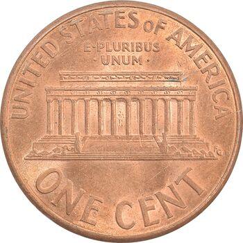 سکه 1 سنت 1999D لینکلن - MS62 - آمریکا
