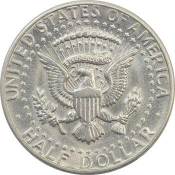 سکه نیم دلار 1973D کندی - AU50 - آمریکا