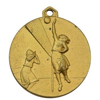 مدال آویز ورزشی طلا والیبال دختران - AU - محمد رضا شاه