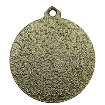 مدال آویز ورزشی برنز وزنه برداری - EF - جمهوری اسلامی