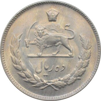 سکه 10 ریال 1349 محمد رضا شاه پهلوی