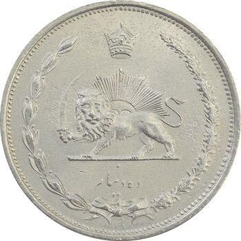 سکه 10 دینار 1310 - MS63 - رضا شاه