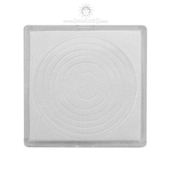 کاور سکه پلاستیکی - مربع - سایز C - فوم دار