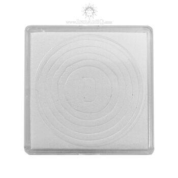 کاور سکه پلاستیکی - مربع - سایز D - فوم دار