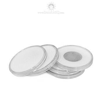 کاور سکه پلاستیکی - دایره - سایز C - فوم دار
