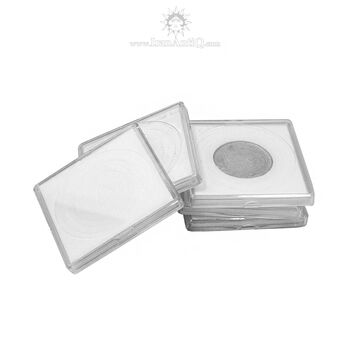کاور سکه پلاستیکی - مربع - سایز B - فوم دار