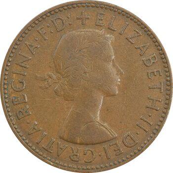 سکه 1/2 پنی 1960 الیزابت دوم - VF35 - انگلستان