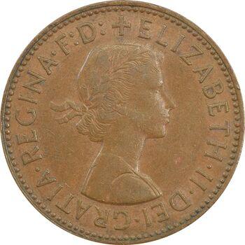 سکه 1/2 پنی 1962 الیزابت دوم - EF45 - انگلستان