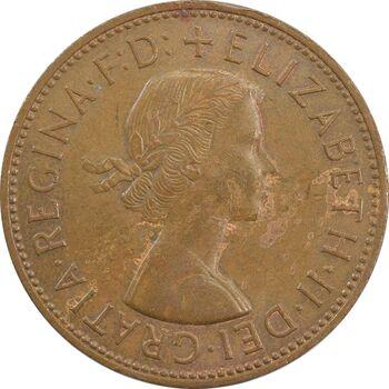سکه 1 پنی 1967 الیزابت دوم - EF45 - انگلستان