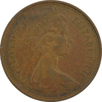 سکه 2 پنس 1971 الیزابت دوم - VF30 - انگلستان