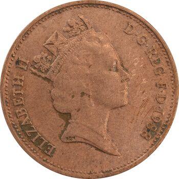 سکه 2 پنس 1988 الیزابت دوم - EF40 - انگلستان