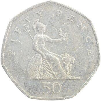 سکه 50 پنس 1997 الیزابت دوم - EF40 - انگلستان