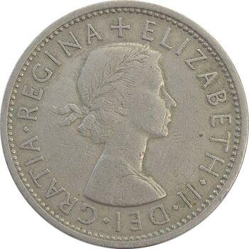 سکه 2 شیلینگ 1966 الیزابت دوم - EF45 - انگلستان
