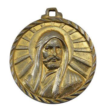مدال آویز کارخانجات ایران ناسیونال یادبود امام علی (ع) - EF40 - محمد رضا شاه