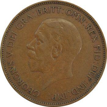 سکه 1 پنی 1935 جرج پنجم - EF40 - انگلستان