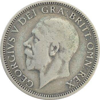سکه 1 شیلینگ 1928 جرج پنجم - VF35 - انگلستان