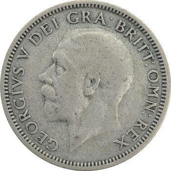 سکه 1 شیلینگ 1936 جرج پنجم - EF40 - انگلستان