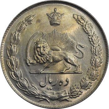 سکه 10 ریال 1341 (ضخیم) - MS64 - محمد رضا شاه