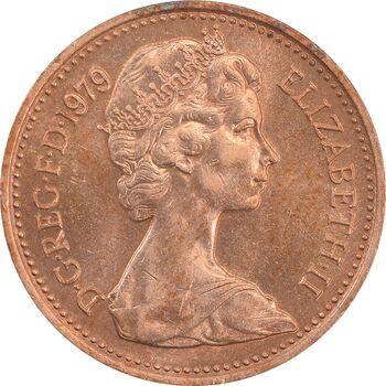 سکه 1 پنی 1979 الیزابت دوم - MS63 - انگلستان