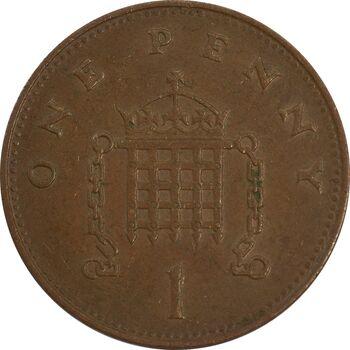 سکه 1 پنی 1992 الیزابت دوم - EF40 - انگلستان