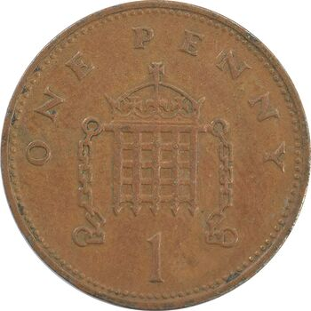 سکه 1 پنی 1994 الیزابت دوم - VF35 - انگلستان